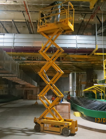 Scissor Lift Optimum 8